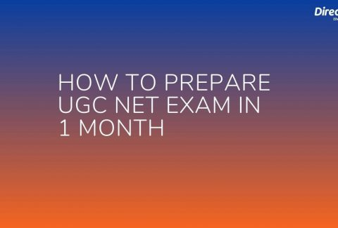 How to Prepare UGC NET Exam in 1 Month