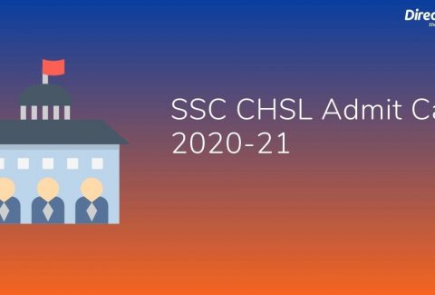 SSC CHSL Admit Card 2020-21