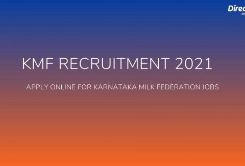 KMF Recruitment 2021
