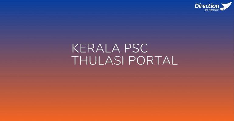 Kerala PSC Thulasi