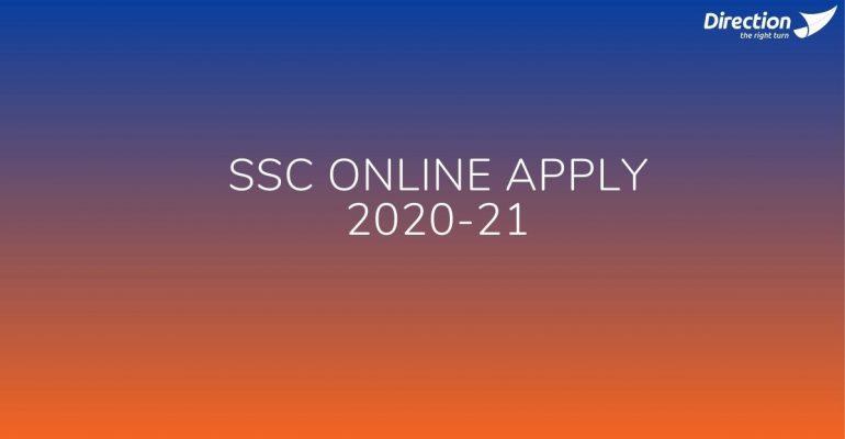 SSC Online Apply 2020-21
