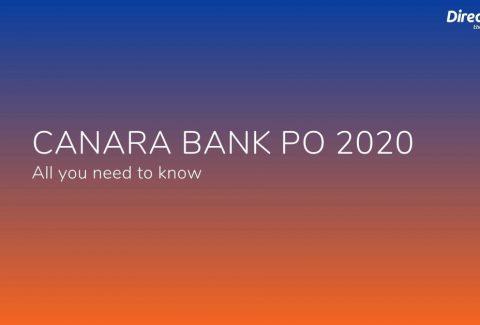 canara bank po 2020