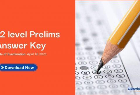+2 level prelims answer key