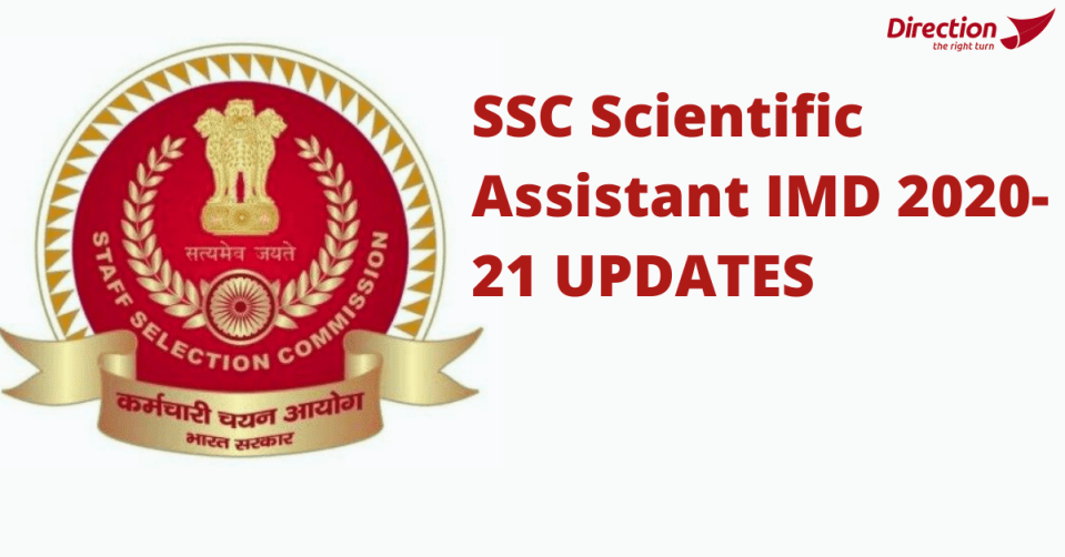 SSC Scientific Assistant IMD