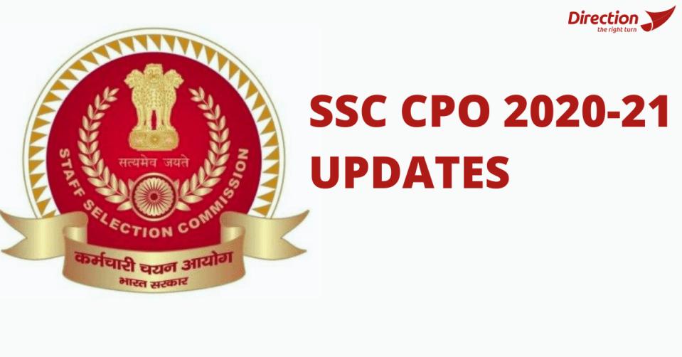 ssc cpo 2020-21