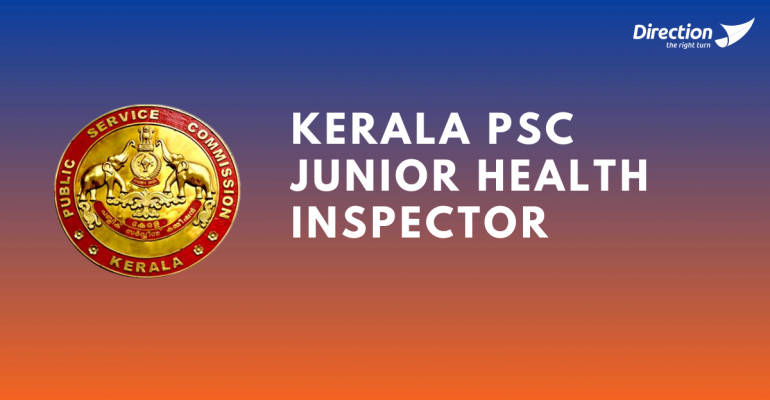 Junior Health Inspector Kerala PSC