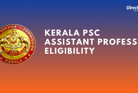 Kerala PSC Assistant Professor Eligibility criteria