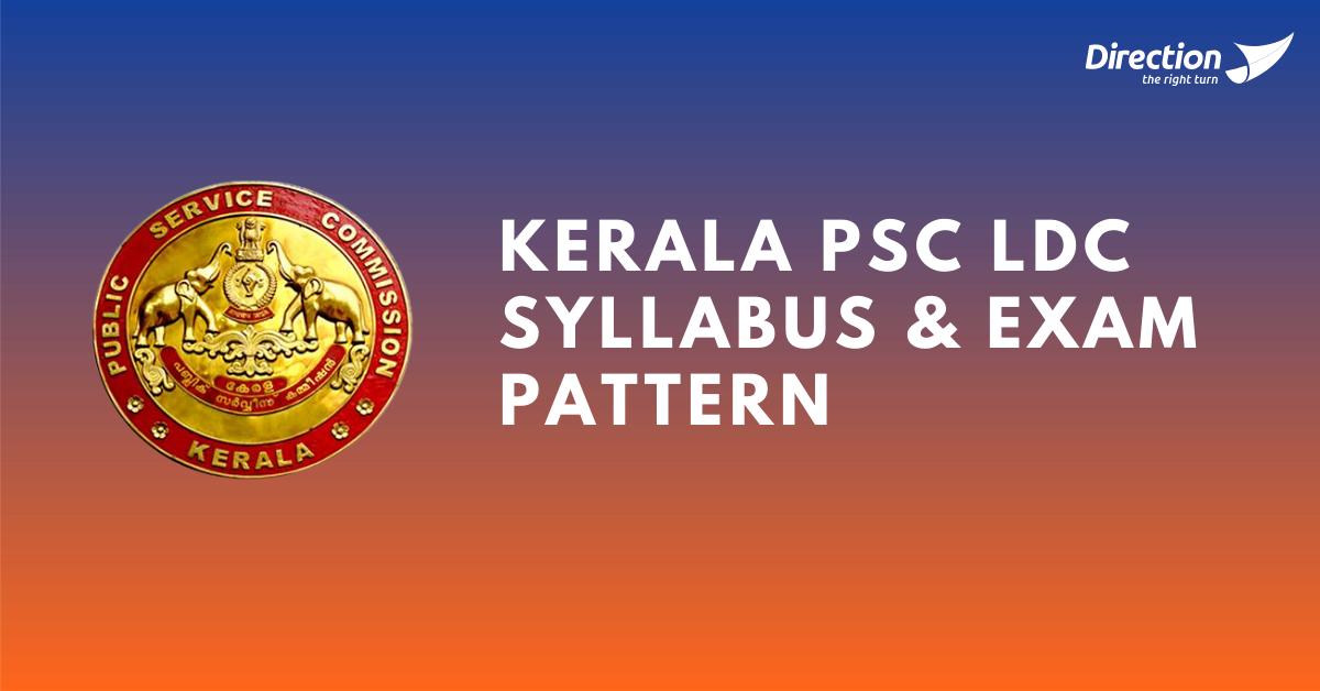 Kerala PSC LDC Syllabus 2021