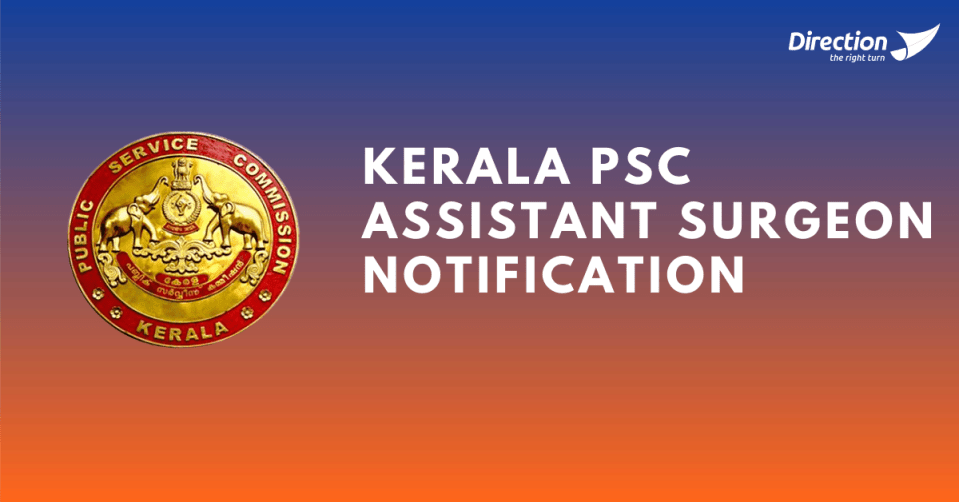 Kerala Psc Assistant Surgeon Notification 2021