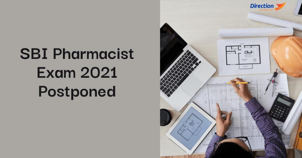 SBI Pharmacist Exam 2021 Postponed