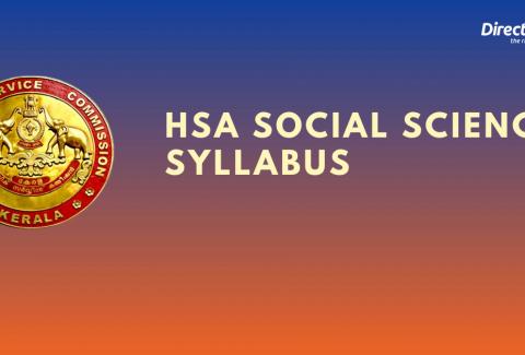 HSA Social Science Syllabus