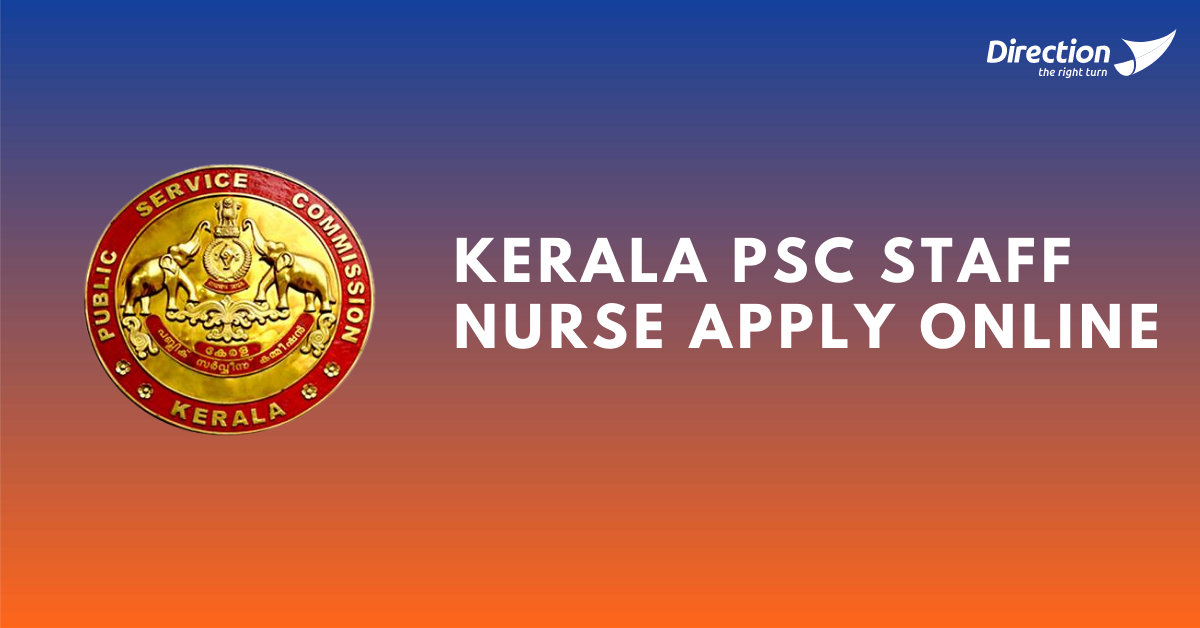 Kerala PSC Staff Nurse Apply Online
