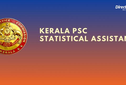 Kerala PSC Statistical Assistant