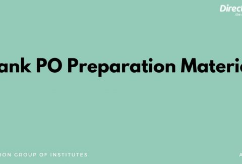 Bank PO Preparation Material