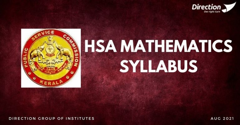 HSA MATHEMATICS SYLLABUS