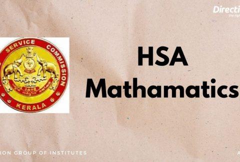 Hsa Mathamatics