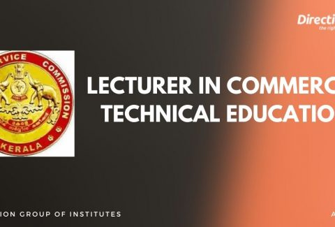LECTURER IN COMMERCE - TECHNICAL EDUCATION