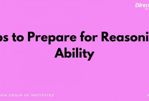 Tips to Prepare for Reasoning Ability
