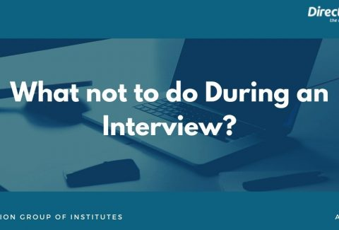 What not to do During an Interview