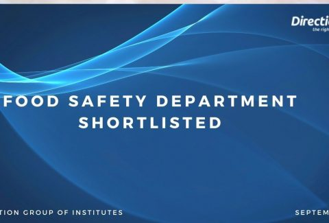 Food safety department Shortlisted