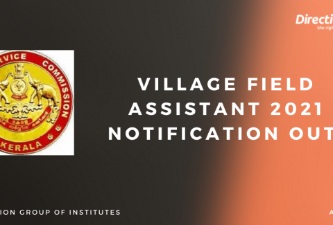 Village Field Assistant 2021 Notification Out